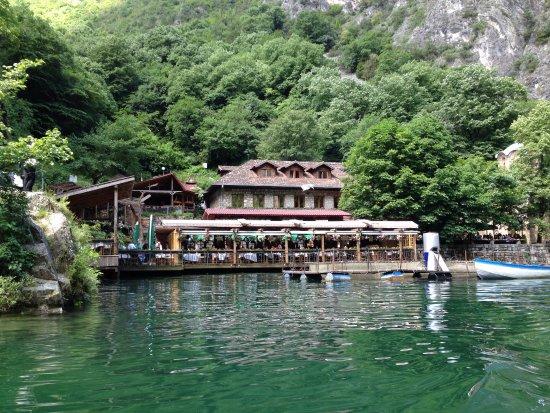 Lake Matka Canyon Hotel Restaurant