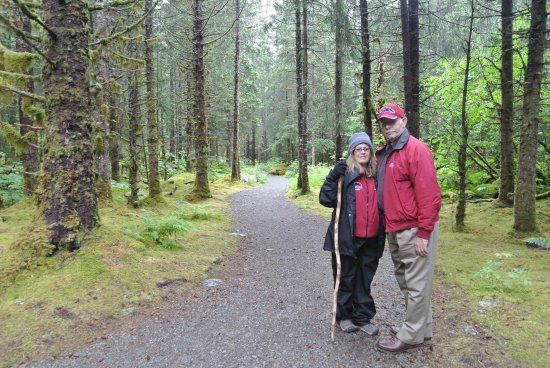 Gastineau Guiding Company - Juneau's Premier Guiding Company: My wife and I during our guided walk through the rainforest.