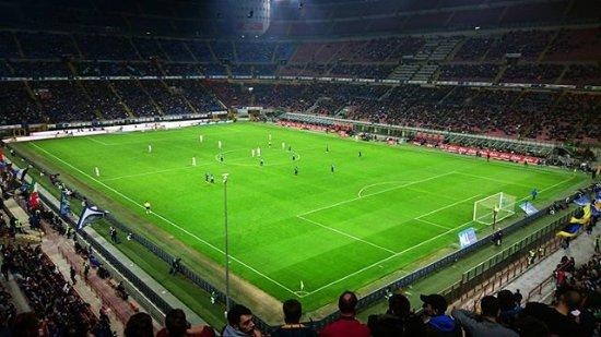 Stadio Giuseppe Meazza (San Siro) : Ze zápasu s FC Turín