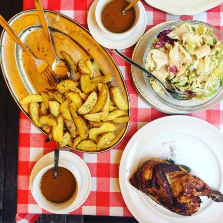Salade de ch vre chaud picture of chez ma cousine - Chez ma cuisine geneve ...