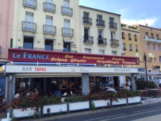 Restaurant le france port vendres dans port vendres - Restaurant le france port vendres ...