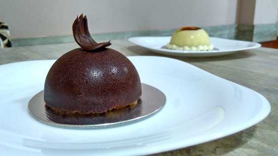 Sorriso: sobremesa de chocolate Belga