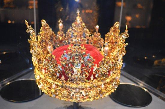 قلعة روزنبرج: Королевская корона!
