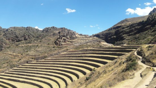 Regio Cuzco, Peru: Área de plantação do Incas