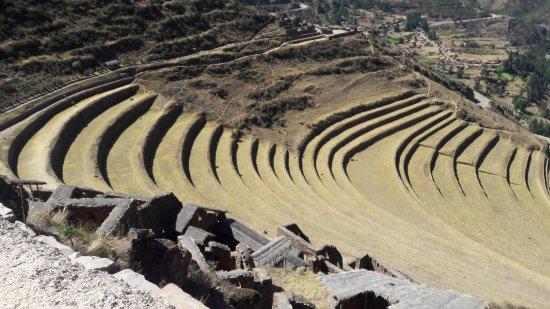 Regio Cuzco, Peru: Foto da entrada até o alto das ruínas