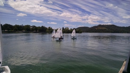 Clearlake, CA: El Toro sailboat regatta sailed from the marina