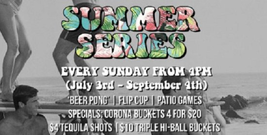 "Surrey, Canada: ""Beer Pong"", Flip Cup & Patio Games Are Everything At The Edith + Arthur Sunday Summer Series"