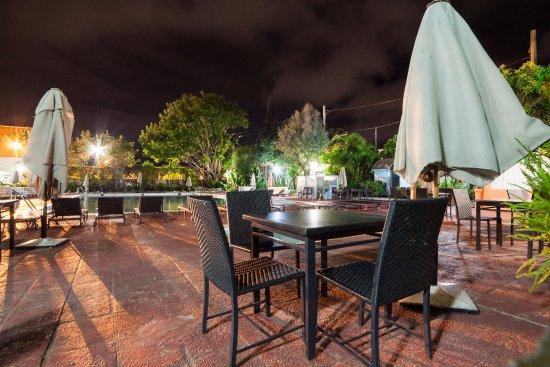 Hotel Carlton Antananarivo Madagascar: night shoot at Carlton's yard