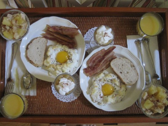 Rocky Springs Bed & Breakfast: Fresh home made breakfasts!