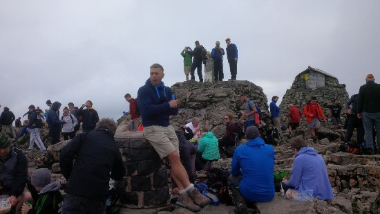 Ben Nevis: At the top