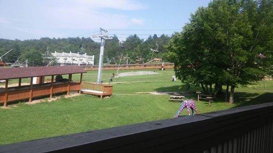 Bryce Resort: view from restaurant