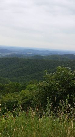 Basye, VA: view from restaurant