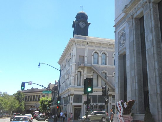 Downtown, Petaluma, Ca