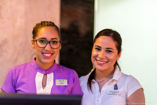 Melia Puerto Vallarta All Inclusive: very friendly staff at the front desk