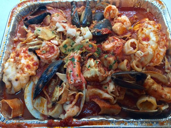 Hurleyville, NY: Zuppa Di Pesce to go