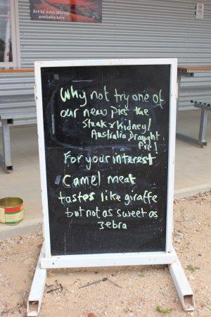 Birdsville, Australia: try one, take one home
