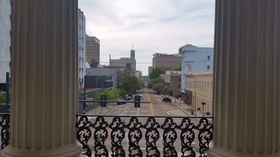 View from the Old Capitol Museum looking west into downtown Jackson