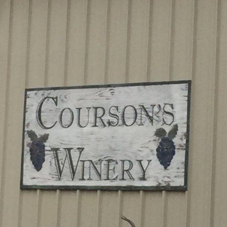 Sparta, จอร์เจีย: Winery sign