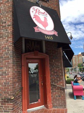 Red's Diner : Front of Diner