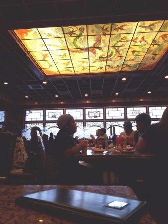 Forbidden City: Dining Room Ceiling