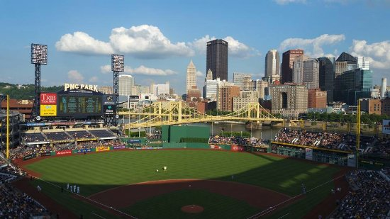 PNC Park: Beautiful view of the city!