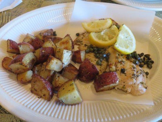 Vonore, TN: Pesce in Cartoccio (Tilapia dinner)