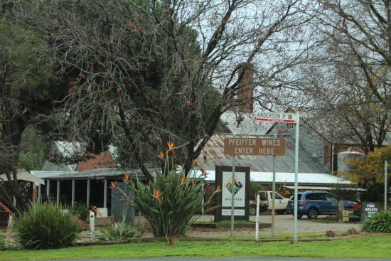 Wahgunyah, أستراليا: Loads of character