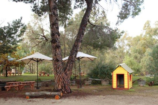 Wahgunyah, Avustralya: Relaxing setting