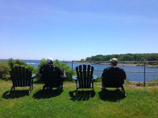 York Harbor, ME: View
