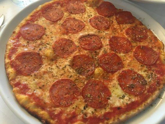 La Tosca: Spicy Salami Pizza w/ oregano