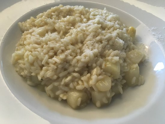 La Tosca: Risotto with Fresh White Asparagus
