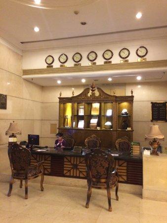 Modern Hotel: Встреча клиентов