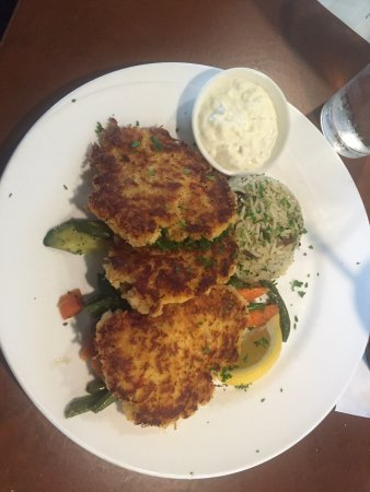 Depoe Bay, OR: Coconut Shrimp & Dungeoness Crab Cakes