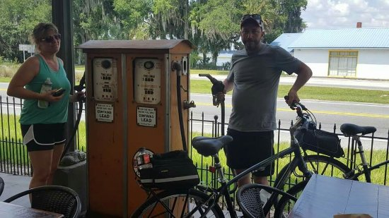 Hernando, FL: Great bike trip and a great place to re-fuel.