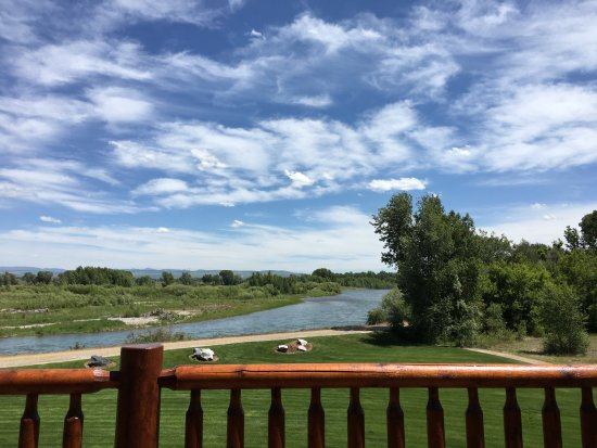 Rigby, ID: Off the Blue Heron Suite balcony