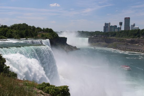 Niagara Falls Day View From The Us Side