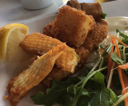 Gidgegannup, Australien: calamari...all meals look bigger than what they were