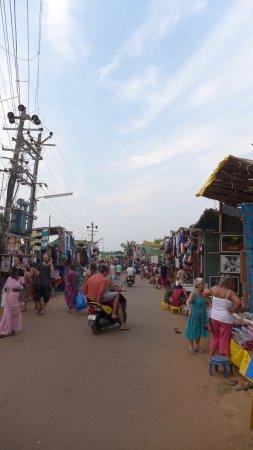 Анджуна, Индия: Anjuna market