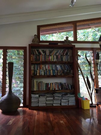 Matanivusi Surf Resort: TV room/Library