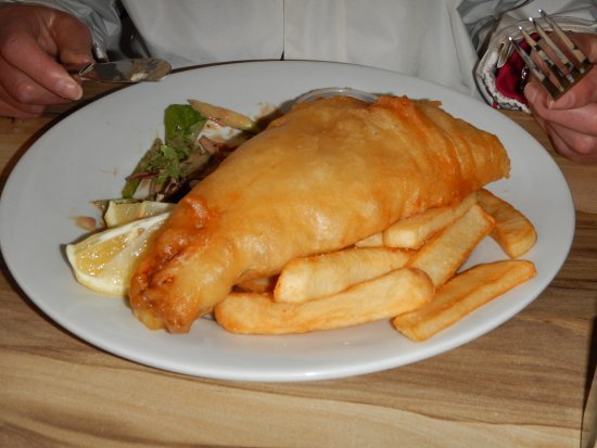 Patonga, Australia: Fish and chips