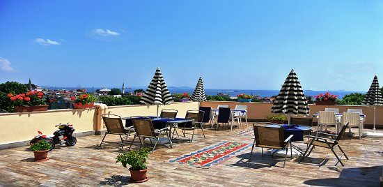 Fors Hotel: teras
