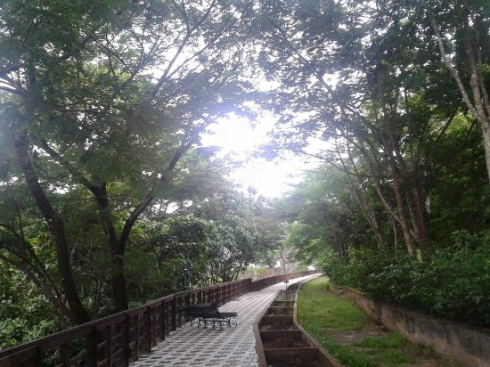 Thenmala, Indien: Sit and relax