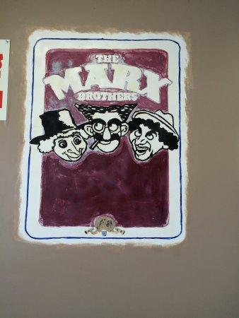 Blythewood, Caroline du Sud : Another film poster painting.