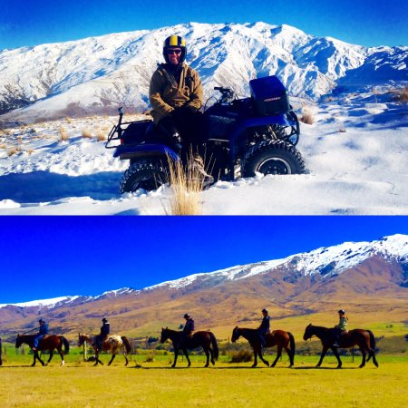 The Cardrona: Explore the spectacular mountains of Cardrona on quad bikes or horses