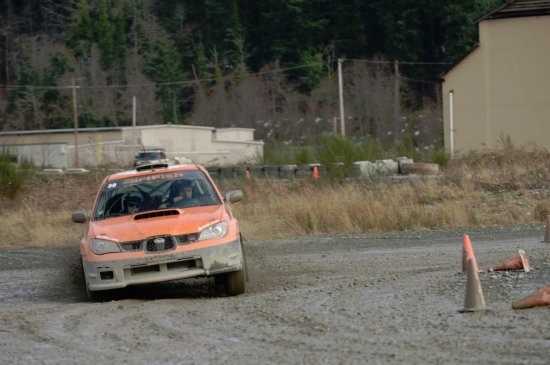 Me Drifting Around A Corner Picture Of DirtFish Rally School - Car rally near me