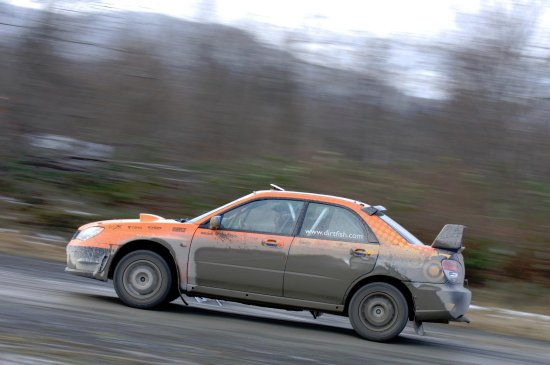 DirtFish Rally School: Me Driving fast