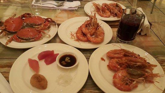 晚餐~生魚片還可以