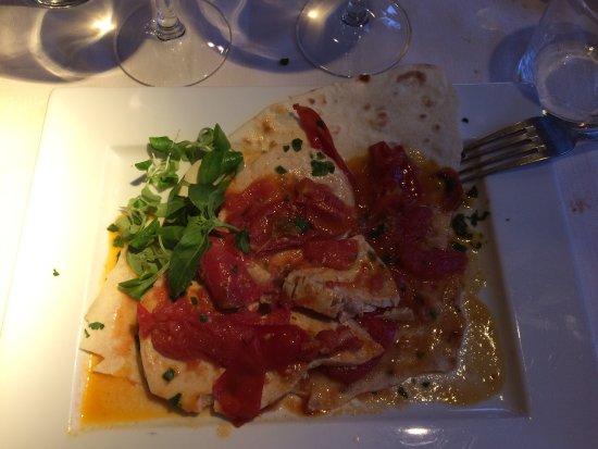 Carlotta Café - Restaurant: Pesce spada con pomodorini e capperi
