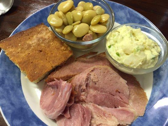 Macclenny, Floryda: Ham dinner