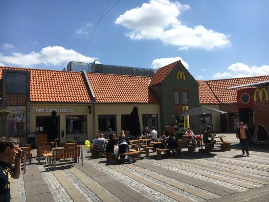 Ringsted Municipality, Denmark: Seating outsite